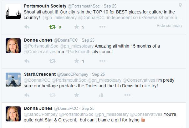 S&C Twitter Donna Jones