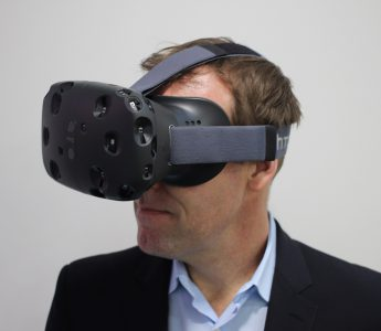 Image of HTC Vive by Maurizio Pesce Under Creative Commons license 2.0, via Wikimedia Commons