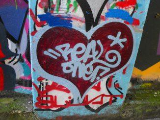 Graffiti in Wimbledon Park, Southsea, Portsmouth,