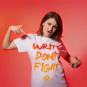 Write Don't Fight' T-shirt